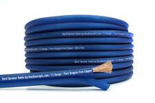 KnuKonceptz Kord Speaker Wire Ultra Flex Blue OFC 12 Gauge Cable 10'