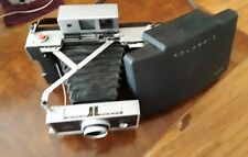 Polaroid Automatic 250 Land Camera w/ Case and Leather Strap