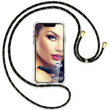 Collier Etui Necklace Sautoir Gold pour Honor 9 Lite, 9 youth Ed. – noir-or
