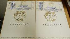 VTG 1956 WORLD PREMIER PROGRAMS & TICKET STUBS FOR ANASTASIA 20TH CENT FOX #24