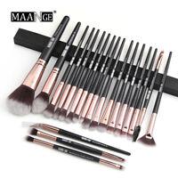 20PCS Pro Makeup Brush Set Powder Blush Foundation Eyeshadow Make Up Brush New