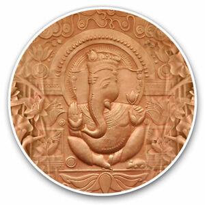 2 x Vinyl Stickers 20cm - Lord Ganesha Hindu God Indian Cool Gift #21810