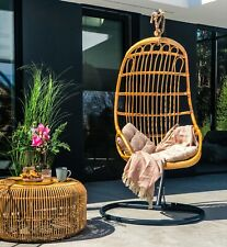 100 % Natural Rattan Hanging Chair Liam