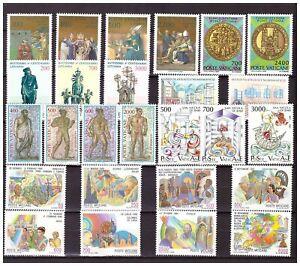 s15555) VATICANO MNH** 1987, Complete Year set 26v + S/S