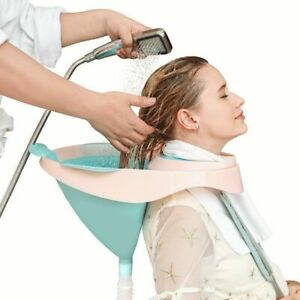 Comfortable Shampoo Foldable Sink Tool Portable With Hose Easy Washing Hair New