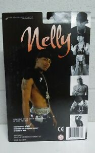 Vintage 2003 Rapper Nelly Action Figure by The Stronghold Group Free Shipping
