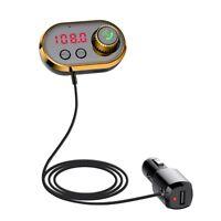 Kit Voiture Bluetooth Transmetteur FM Lecteur MP3 Adaptateur Radio Chargeur G5M9