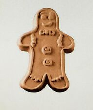 Gingerbread Man- Soap making/ Candle Molds/Moulds Milky Way