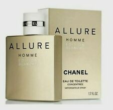 ❤️ ALLURE HOMME CHANEL EDITION BLANCHE EDT CONCENTREE 1.7oz 50ml. ☆☆☆☆☆!