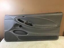 1999-2004 FORD MUSTANG RH PASSENGER SIDE LIGHT GRAY DOOR PANEL USED