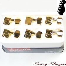 Schaller Original F-Series Standard tuners/machine heads  6inline Gold 10560520