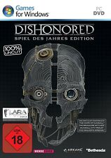 USK 18 - Dishonored - Game of the Year Edition - PC-DVD - NEU & Verpackt