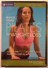 PILATES - Quick Start Weight Loss - MINT NEW SEALED  DVD + CD!!