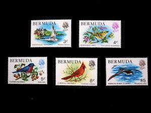 BERMUDA - SCOTT# 363------365,367,379 - MNH - CAT VAL $19.50