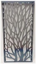 More details for wonderful rustic core-ten steel garden tree screen 775mm tall ideal screen fence