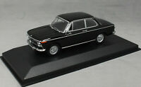 Minichamps Maxichamps BMW 1600 in Black 1968 940022101 1/43 NEW 2020 Release