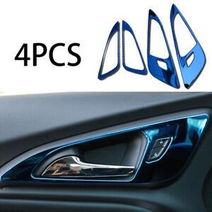 Fit For Chevrolet Malibu XL 2016-2020 Inner Door Handle Cover Trim Blue Titanium