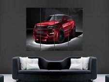 Range rover evoque supercar giant poster print