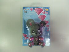 """Toy2r 3.5"""" Baby Qee Jouet Nasty Devil Bear Dunny Worldwide Free S/H"""