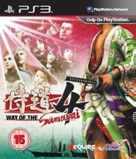 PS3-Way de los samurái 4/PS3 Juego Nuevo