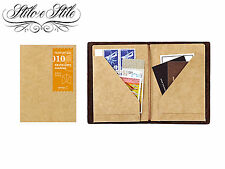 Midori Kraft File | Refill Midori 010 | Traveler's Notebook Passport Size PP