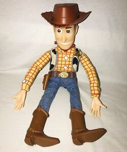Vintage Disney Pixar Toy Story Pull String Talking Woody Thinkway Original Works