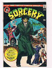Sorcery #8 NM Red Circle Comics Group Comic Book DE27