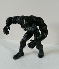 MEGA RARA MINIATURA 3 in (ca. 7.62 cm) SPIDERMAN BLACK VENOM FIGURE-HASBRO 2006