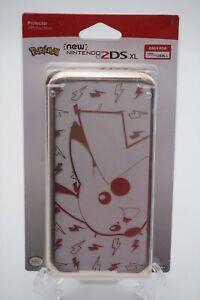 HORI Official Nintendo 2DS XL Pikachu Premium Protector Metallic Gold NEW IN BOX