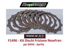 "F1496 - KIT DISCHI FRIZIONE ""NewFren"" per BMW F650   650cc dal 1993 al 2003"