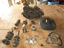 1978 Suzuki RM125 Crankcases Cylinder Head Flywheel Stator Shift Forks Parts Lot