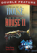 HOUSE AND HOUSE II DOUBLE FEATURE BRAND NEW SEALED DVD