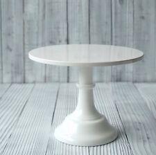 25cm x 18.5cm High Elegant White Iron Metal Cupcake Cake Stand Wedding Birthday