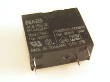 NAiS Microwave Relay ALE15B12 12VDC Coil SPST 16A 250Vac 30Vdc OM352A
