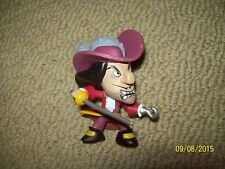 captain hook disney heroes vs villains mystery minis vinyl figure funko peterpan