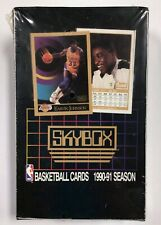 1990-91 Premier SkyBox Basketball Series 1 Factory Sealed Foil Box Jordan is hot