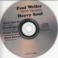 PAUL WELLER Wild Wood To Heavy Soul UK 8-trk promo only CD sampler PAULCD1