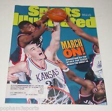 SCOTT POLLARD - Sports Illustrated SI Magazine - Kansas Jayhawks Sweet 16 1997