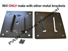 METAL 2 piece TV Bracket set for Campers/RVs--- (NOT PAW International Polymer)