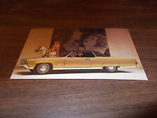 1969 Oldsmobile Ninety-Eight Holiday Coupe Advertising Postcard