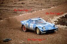 MARKKU ALEN Team LANCIA STRATOS CHARDONNET HF RAC Rally 1981 fotografia 1
