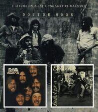 DR.HOOK - DR.HOOK/SLOPPY SECONDS/BELLY UP! 2 CD NEW