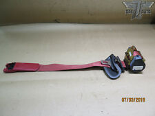 05-13 CHEVROLET CORVETTE C6 RIGHT RED SEAT BELT ASSEMBLY 600964000B OEM