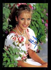 Stefanie Hertel Autogrammkarte 90er Jahre Original Signiert +14715 + 33751