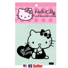 Hello Kitty Car Window DECO Decal Sticker (Car Accessory) : Heart