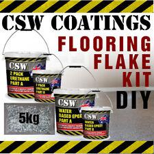 DIY Flake Flooring Kit