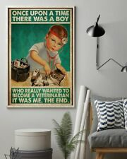 New listing There's A Boy Who Really Wanted To Become A Veterinarian It Was Me Canvas