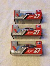 Paul Menard #27 Valvoline 2016 Promo 1/64 Lionel Darlington NASCAR lot of 3 cars