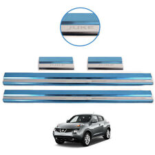 For 2010-2014 Nissan Juke Stainless Steel Sill Scuff Plate Cover 1 Set