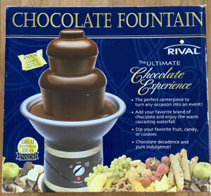Rival Chocolate Fondue Fountain The Ultimate Chocolate Experience